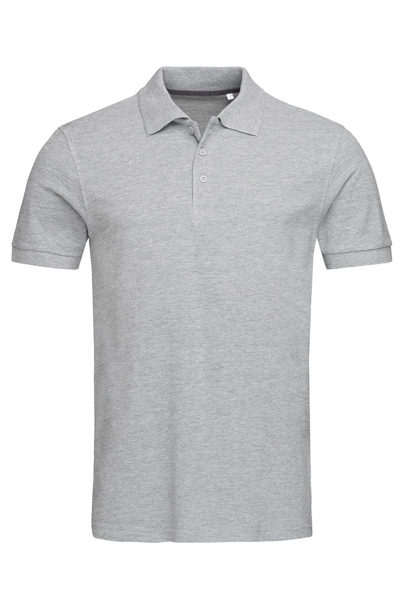 ST9060_GYH Harper Polo Grey Heather