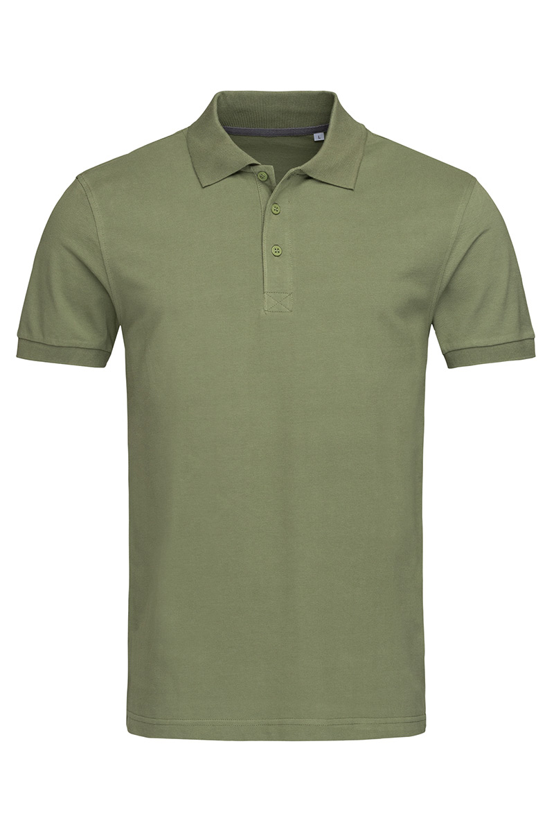 ST9060_MIL Harper Polo Military Green