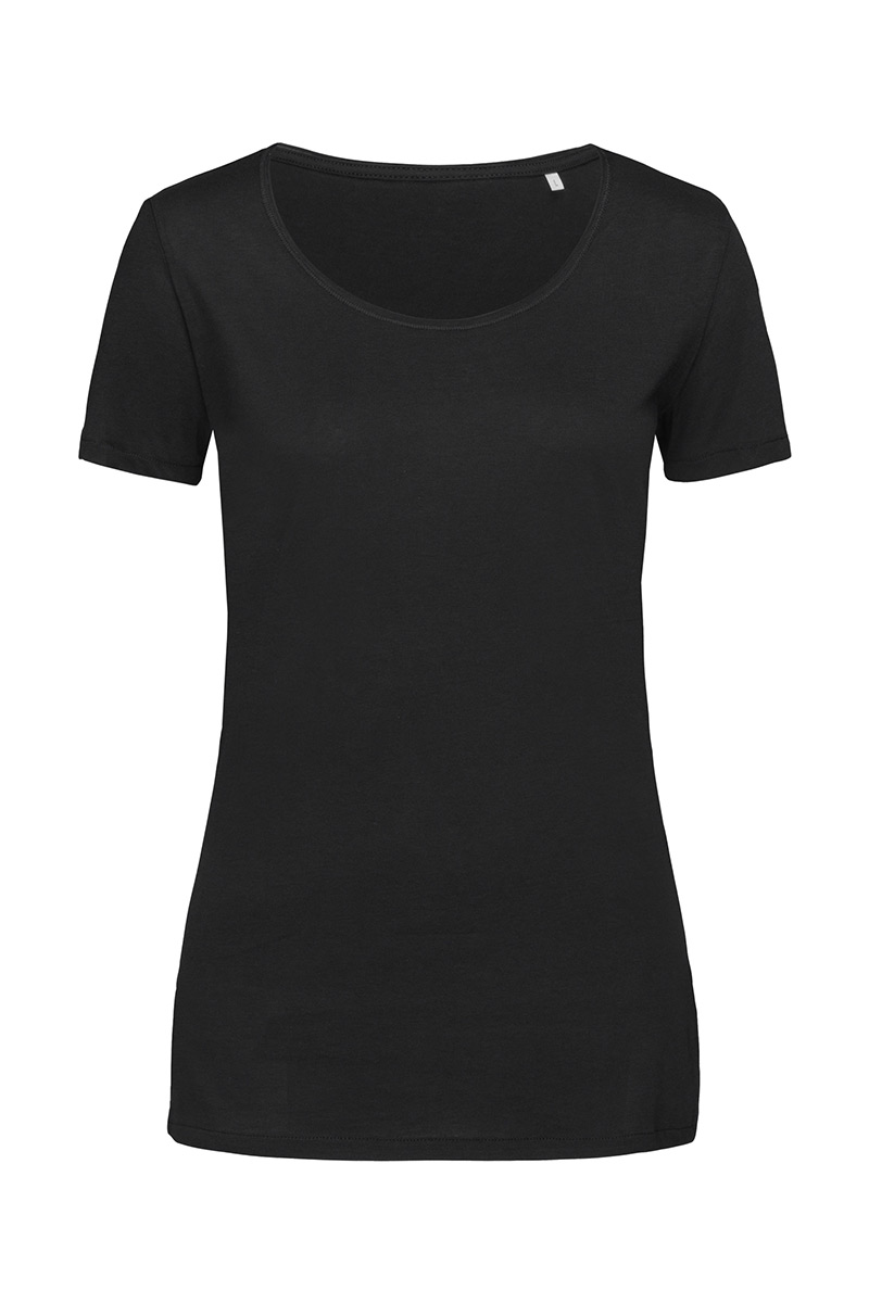 ST9110_BLO Finest Cotton-T Black Opal