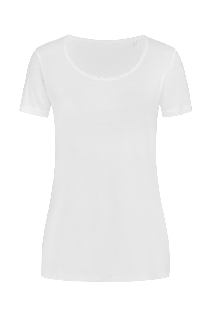 ST9110_WHI Finest Cotton-T White