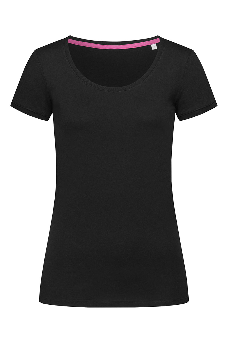 ST9120_BLO Megan Crew Neck Black Opal