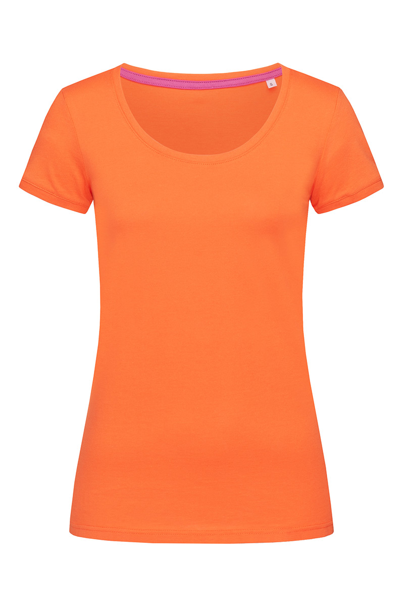 ST9120_PUM Megan Crew Neck Pumpkin