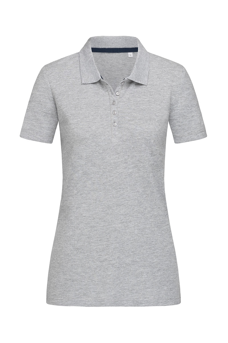 ST9150_GYH Hanna Polo Grey Heather