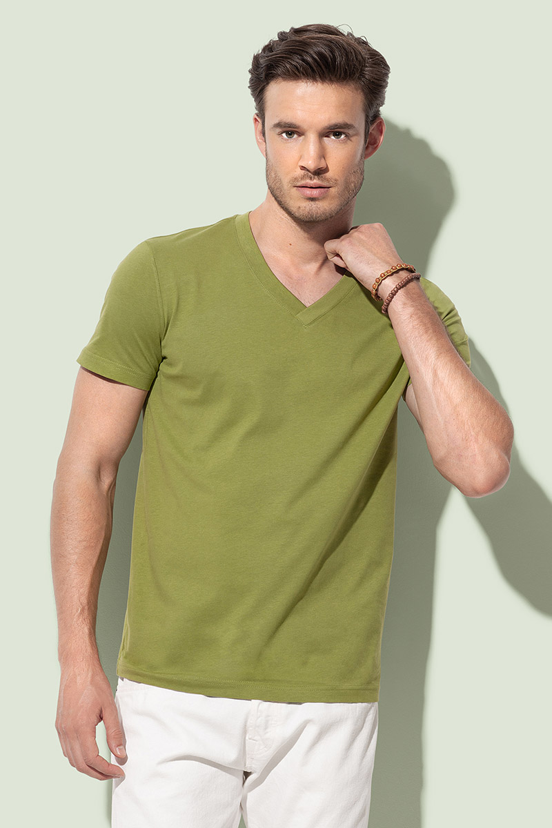 ST9210 James Organic V-neck