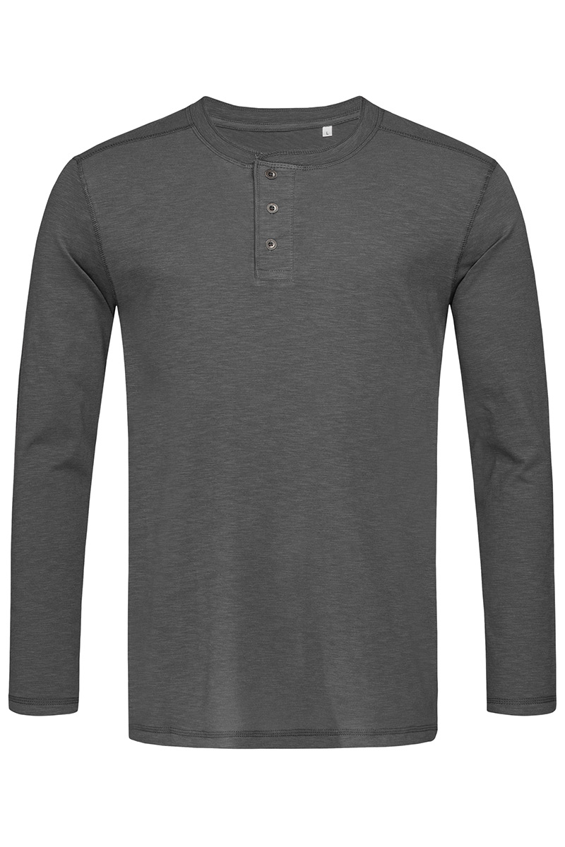 ST9460_SLG Shawn Henley Long Sleeve Slate Grey