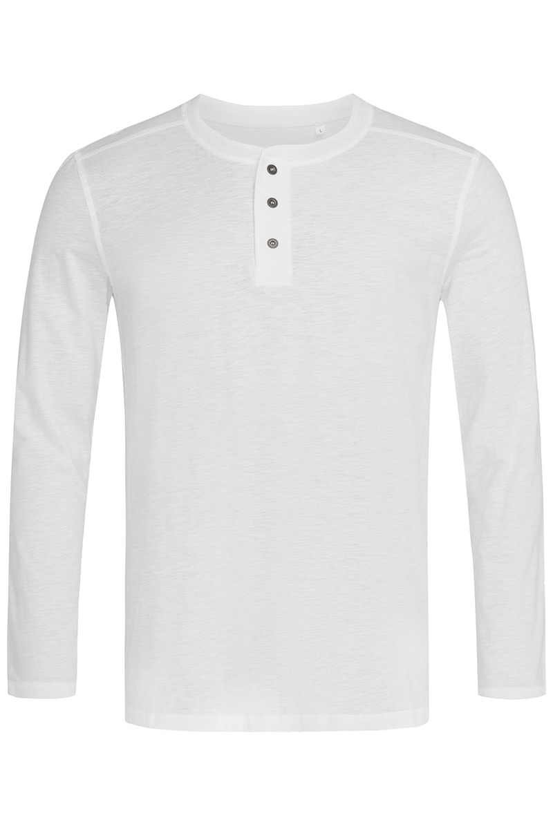 ST9460_WHI Shawn Henley Long Sleeve White