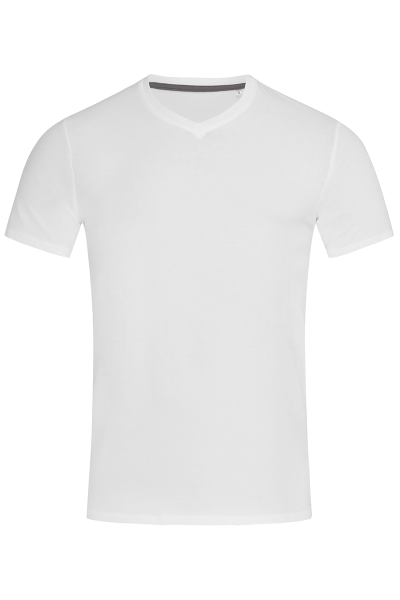 ST9610_WHI Clive V-neck White