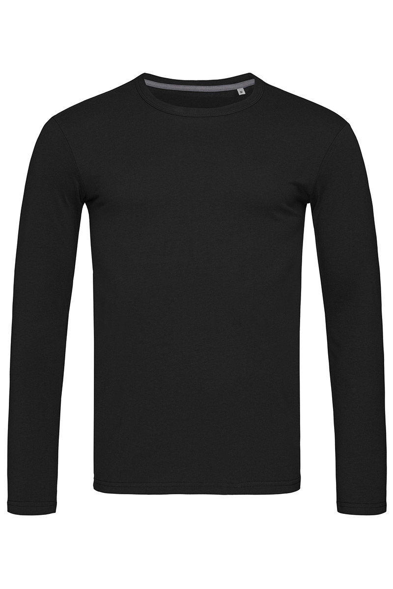 ST9620_BLO Clive Long Sleeve Black Opal