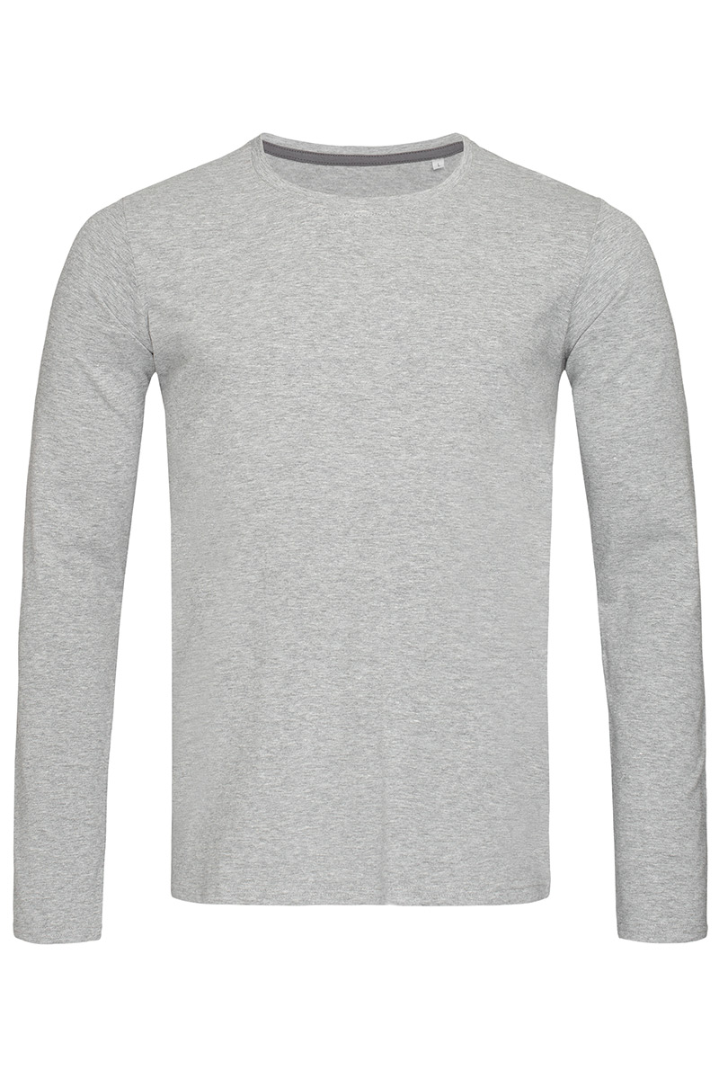 ST9620_GYH Clive Long Sleeve Grey Heather