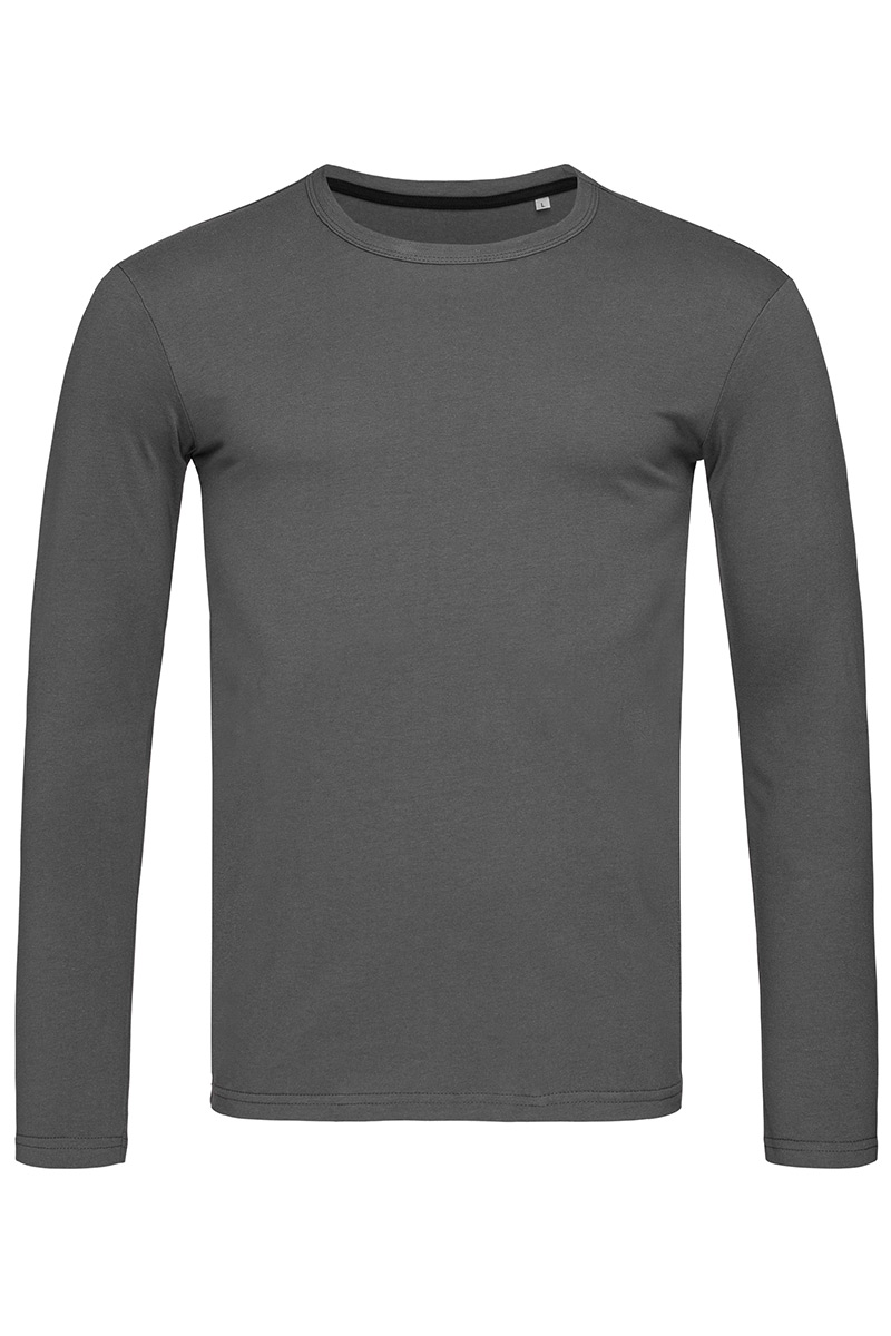 ST9620_SLG Clive Long Sleeve Slate Grey