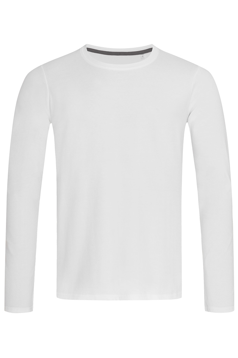ST9620_WHI Clive Long Sleeve White