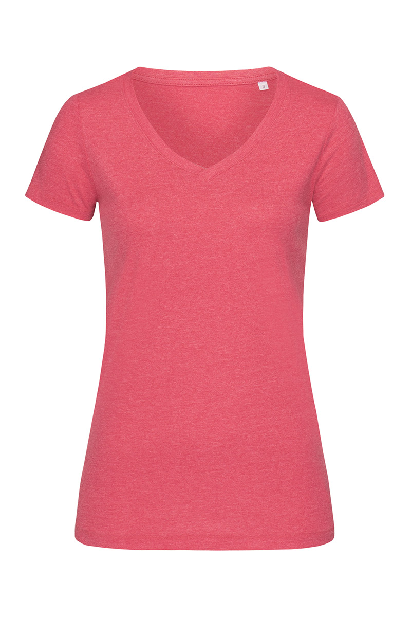 ST9910_CEH Lisa V-neck Cherry Heather